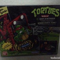 Figuras y Muñecos Tortugas Ninja: TORTUGAS NINJA (RAFT D´ATTAQUE),BANDAI.NUEVO. Lote 148820230