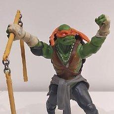 Figuras y Muñecos Tortugas Ninja: TORTUGA NINJA DE 14 CM ALTURA ARTICULADA CON MOVIMIENTO. Lote 149884350