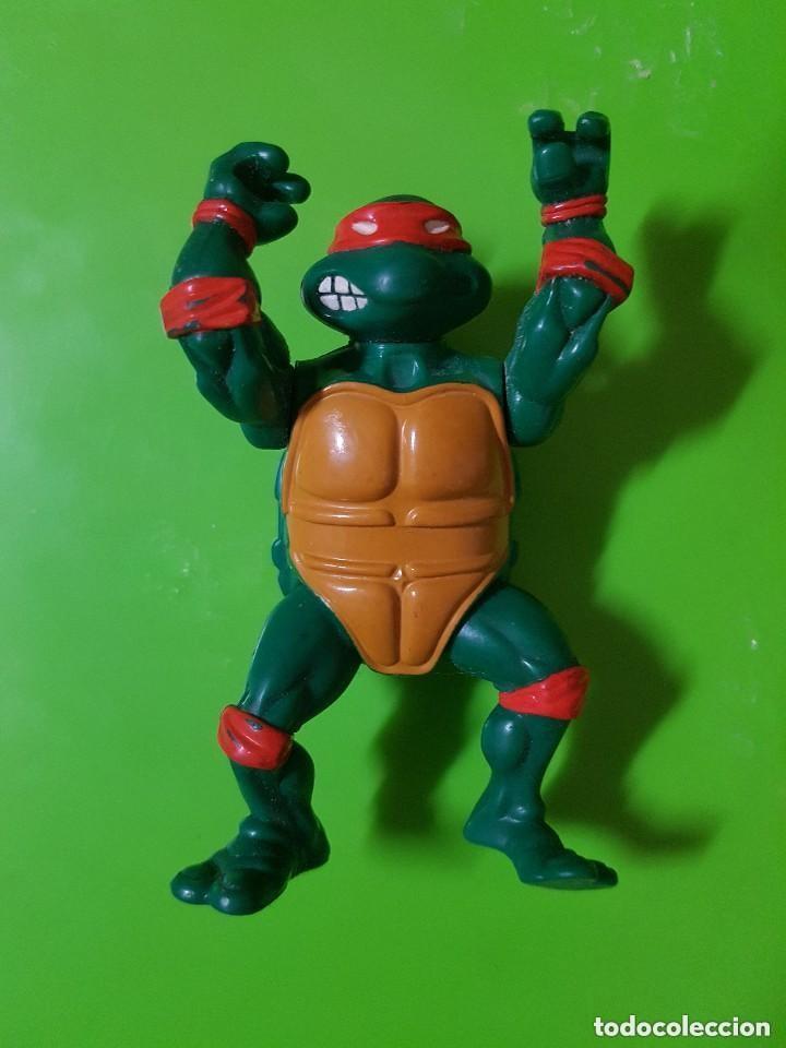 TORTUGA NINJA EN BUEN ESTADO COMPLETAMENTE ORIGINAL AÑO 1988 LAS PRIMERAS QUE SALIERON (Juguetes - Figuras de Acción - Tortugas Ninja)