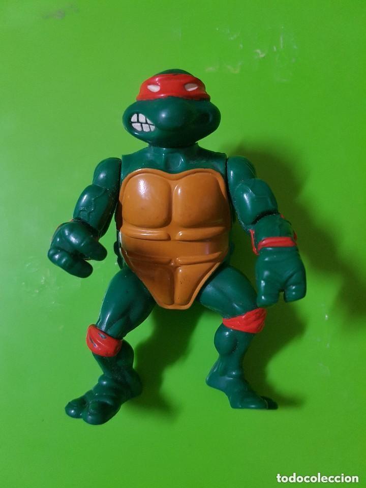 Figuras y Muñecos Tortugas Ninja: Tortuga Ninja en Buen Estado completamente Original año 1988 las Primeras que salieron - Foto 2 - 175505804