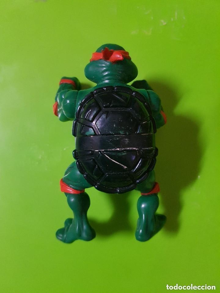 Figuras y Muñecos Tortugas Ninja: Tortuga Ninja en Buen Estado completamente Original año 1988 las Primeras que salieron - Foto 3 - 175505804
