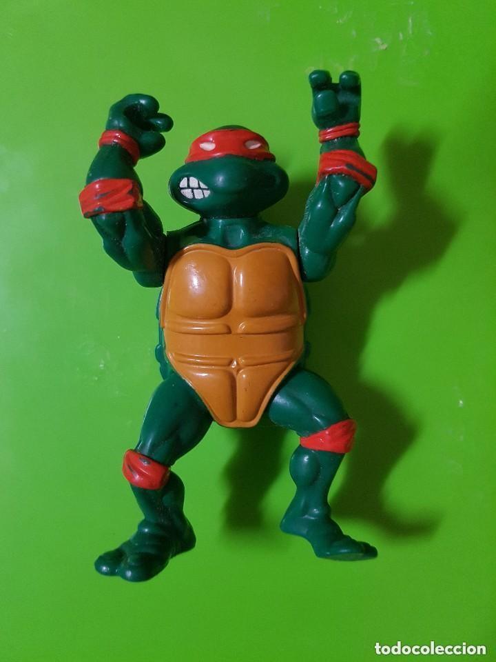 Figuras y Muñecos Tortugas Ninja: Tortuga Ninja en Buen Estado completamente Original año 1988 las Primeras que salieron - Foto 4 - 175505804