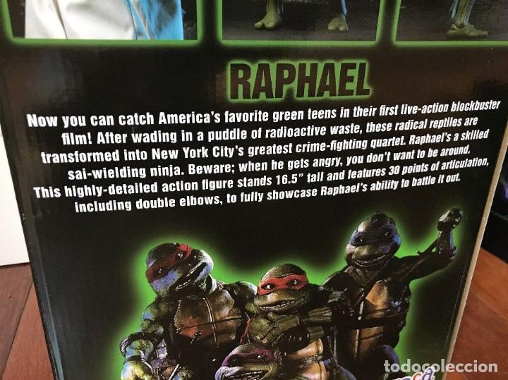 Figuras y Muñecos Tortugas Ninja: Raphael Disfraz Teenage Mutant Ninja Turtles 1/4 escala 18 Figura Neca 2018 ORIGINAL - Foto 6 - 150500042