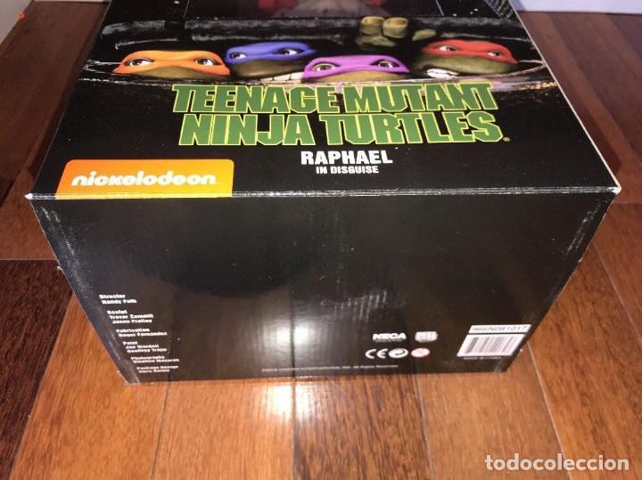 Figuras y Muñecos Tortugas Ninja: Raphael Disfraz Teenage Mutant Ninja Turtles 1/4 escala 18 Figura Neca 2018 ORIGINAL - Foto 11 - 150500042