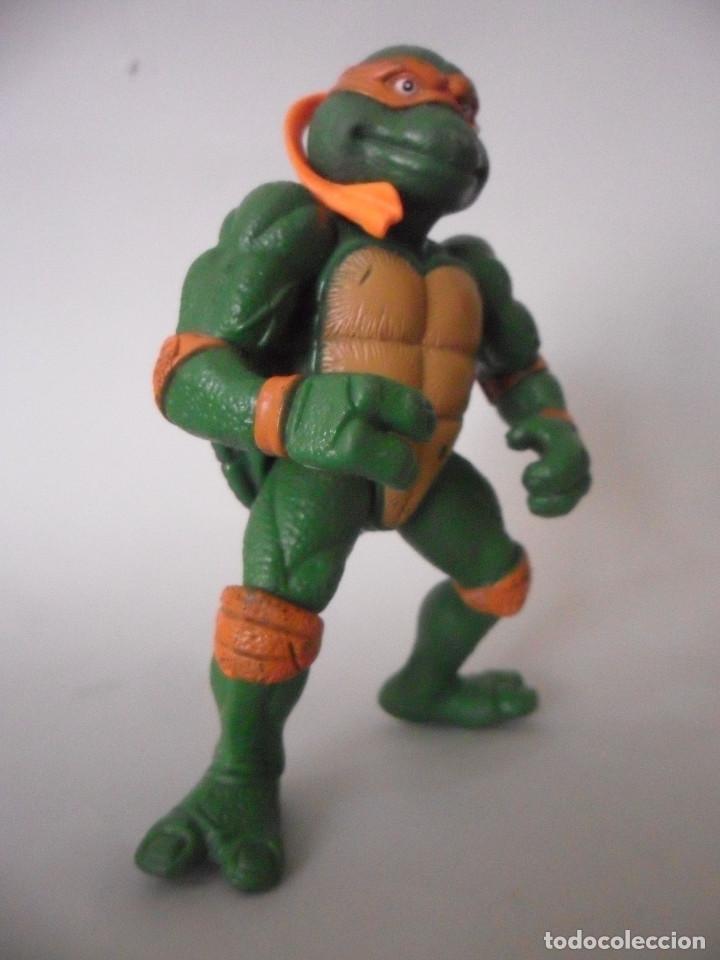 Figuras y Muñecos Tortugas Ninja: TMNT TORTUGAS NINJA MOVIE STAR MIKE FIGURA BOOTLEG - Foto 3 - 151832610