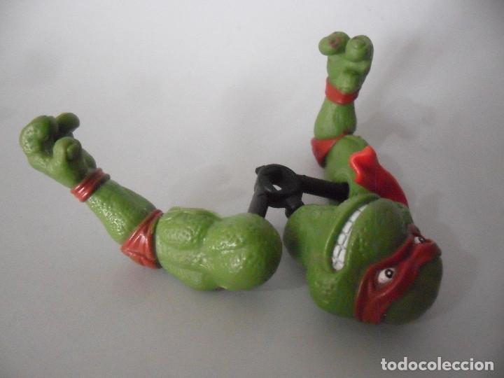 Figuras y Muñecos Tortugas Ninja: TMNT TORTUGAS NINJA MOVIE STAR RAPH FIGURA BOOTLEG - Foto 4 - 151833350