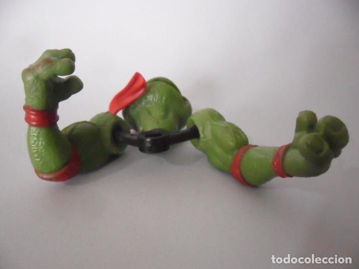 Figuras y Muñecos Tortugas Ninja: TMNT TORTUGAS NINJA MOVIE STAR RAPH FIGURA BOOTLEG - Foto 5 - 151833350
