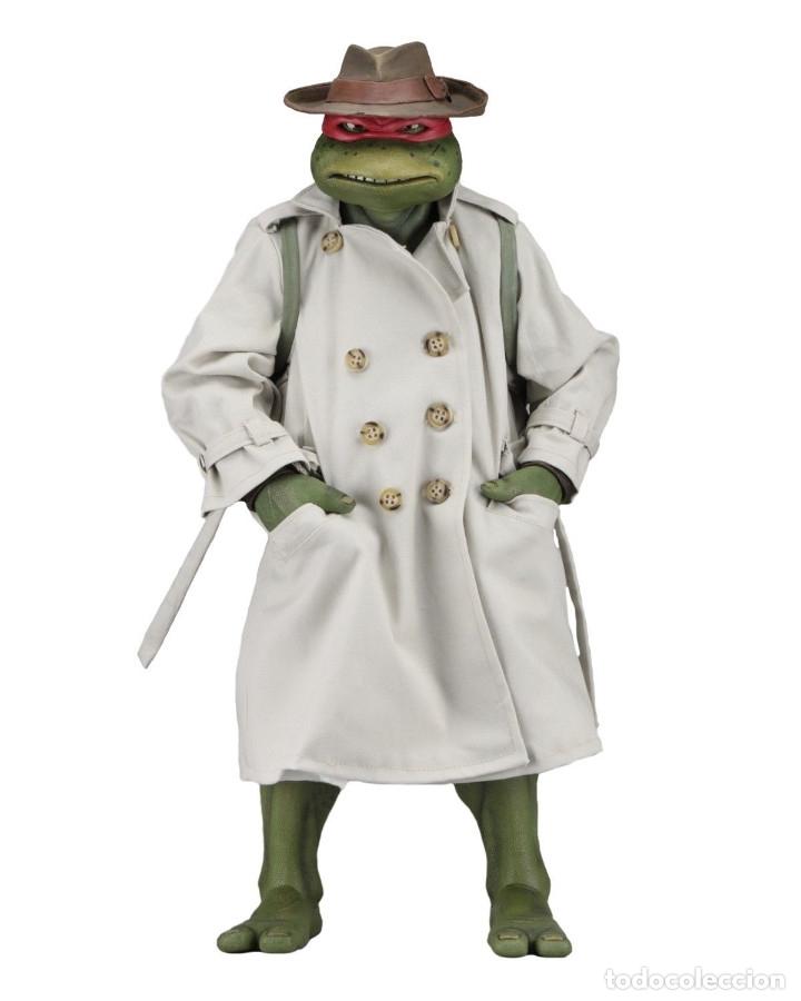 Figuras y Muñecos Tortugas Ninja: Raphael Disfraz Teenage Mutant Ninja Turtles 1/4 escala 18 Figura Neca 2018 ORIGINAL - Foto 13 - 150500042