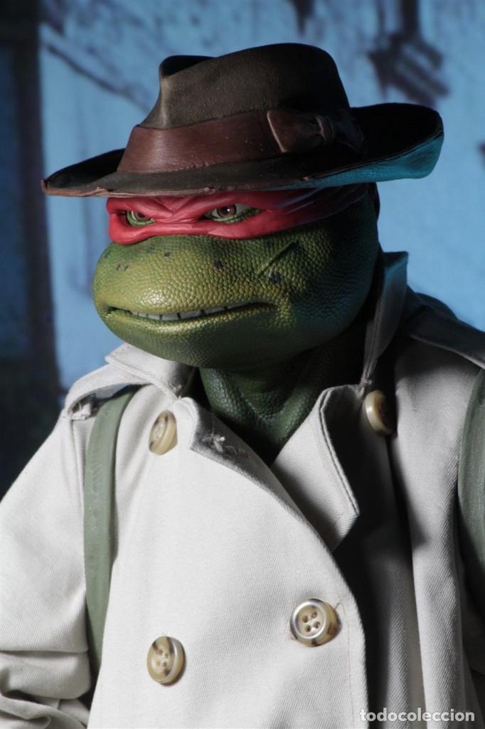 Figuras y Muñecos Tortugas Ninja: Raphael Disfraz Teenage Mutant Ninja Turtles 1/4 escala 18 Figura Neca 2018 ORIGINAL - Foto 22 - 150500042