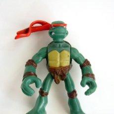 Figuras y Muñecos Tortugas Ninja: FIGURA DE GOMA TORTUGA NINJA RAPHAEL 2007 PLAYMATES TOYS. Lote 152650462