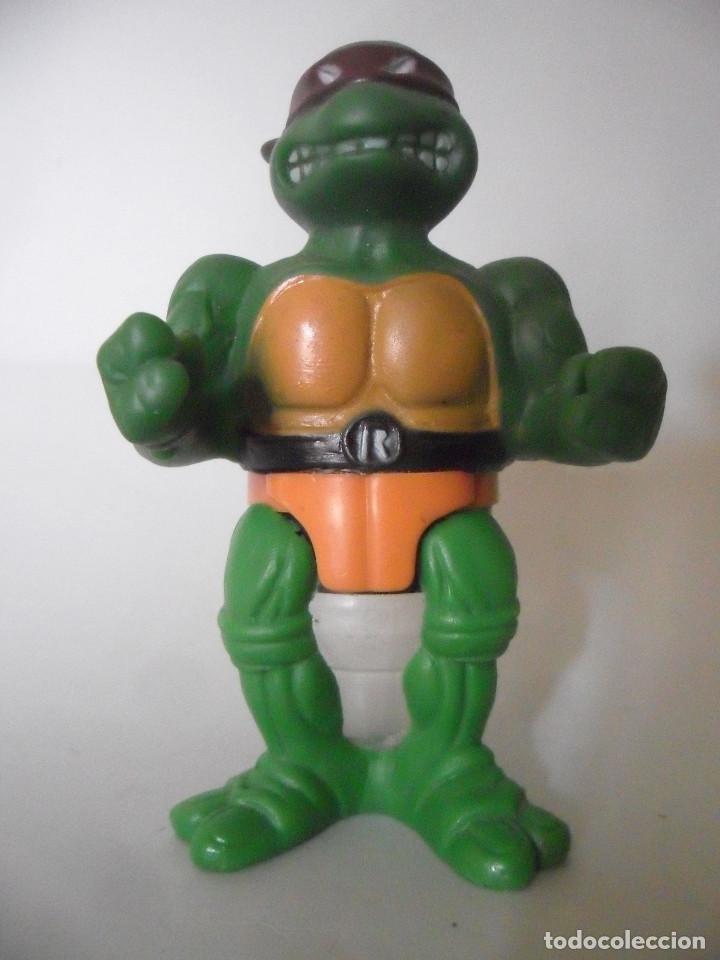 TMNT TEENAGE MUTANT NINJA TURTLES RAPHAEL MIRAGE STUDIOS 1990 USA (Juguetes - Figuras de Acción - Tortugas Ninja)