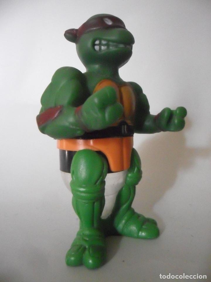 Figuras y Muñecos Tortugas Ninja: TMNT TEENAGE MUTANT NINJA TURTLES RAPHAEL MIRAGE STUDIOS 1990 USA - Foto 3 - 152815630