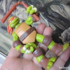 Figuras y Muñecos Tortugas Ninja: FIGURA TORTUGA NINJA ARTICULADA DE 11 CMS. VIACOM 2012.. Lote 153151862