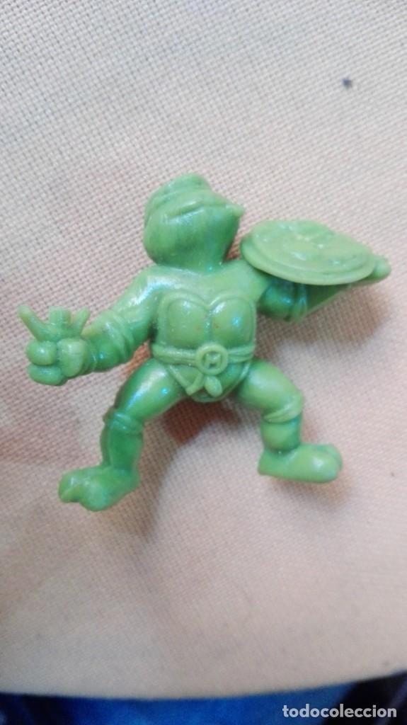 TORTUGA NINJA PLASTICO DURO (Juguetes - Figuras de Acción - Tortugas Ninja)