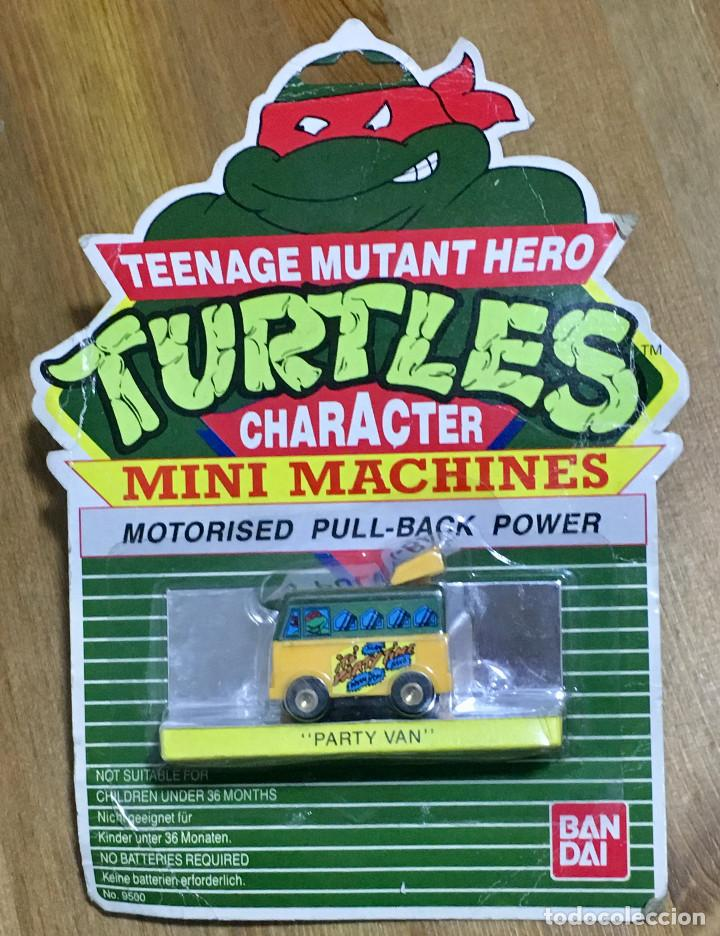 TURTLES MINI MACHINES MOTORISED PULL BACK POWER (Juguetes - Figuras de Acción - Tortugas Ninja)