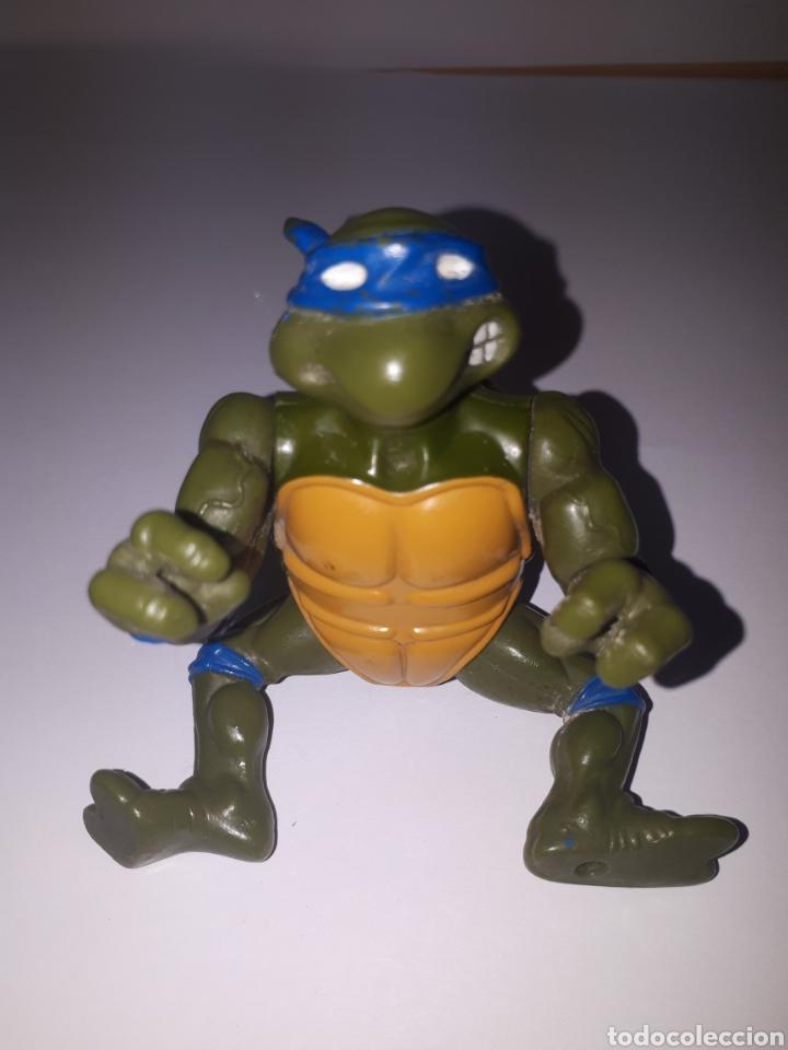 Figuras y Muñecos Tortugas Ninja: TORTUGA NINJA. ARTICULADA MIRAGE STUDIOS. PLAYMATES TOYS 1988 - Foto 3 - 197317062
