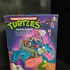 Figuras y Muñecos Tortugas Ninja: TORTUGAS NINJA KNUCKLEHEAD - BANDAI PLAYMATES - NUEVO. Lote 159592206