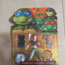 Figuras y Muñecos Tortugas Ninja: FIGURA APRIL O'NEIL - TORTUGAS NINJA - TMNT - TEENAGE MUTANT NINJA TURTLES - PLAYMATES. Lote 160591028