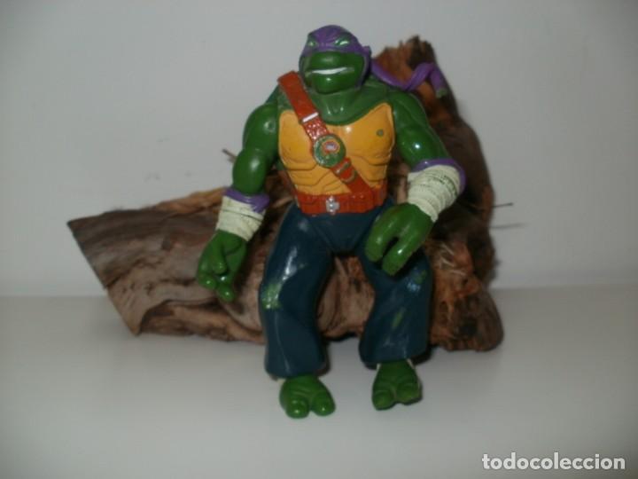 TORTUGA NINJA DONATELLO PLAYMATES TOYS 1997 (Juguetes - Figuras de Acción - Tortugas Ninja)