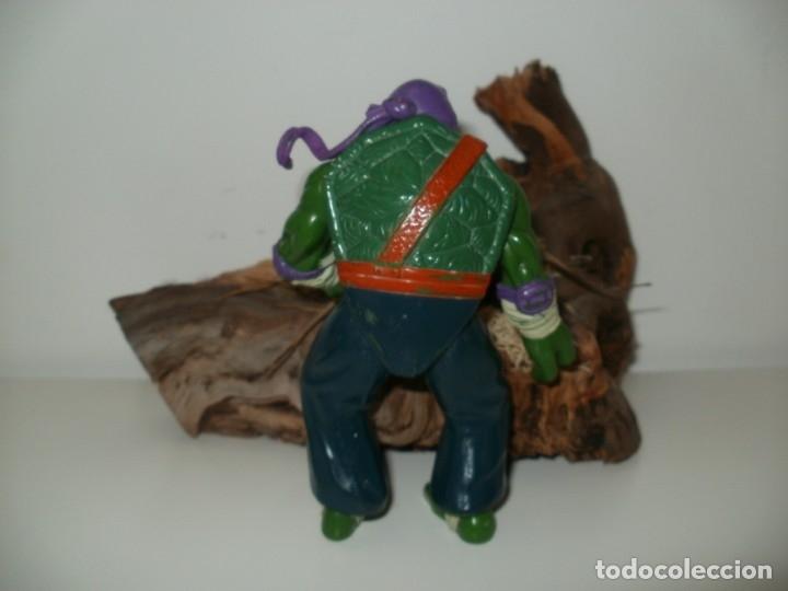 Figuras y Muñecos Tortugas Ninja: TORTUGA NINJA DONATELLO PLAYMATES TOYS 1997 - Foto 3 - 161257378