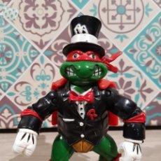 Figuras y Muñecos Tortugas Ninja: TORTUGAS NINJA TMNT PLAYMATES RAFAEL RAPHAEL MAGO 1992. Lote 161996066