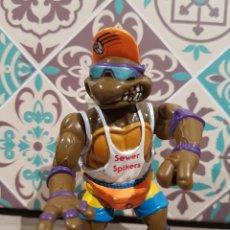 Figuras y Muñecos Tortugas Ninja: TMNT TORTUGAS NINJA DONATELLO SEWER SPIKERS 1992 LANZA AGUA SERIE PLAYA. Lote 161997094