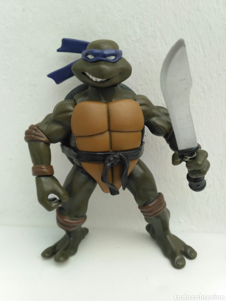 TORTUGA NINJA 2002 DONATELLO PLAYMATES TOYS TMNT TORTUGAS (Juguetes - Figuras de Acción - Tortugas Ninja)