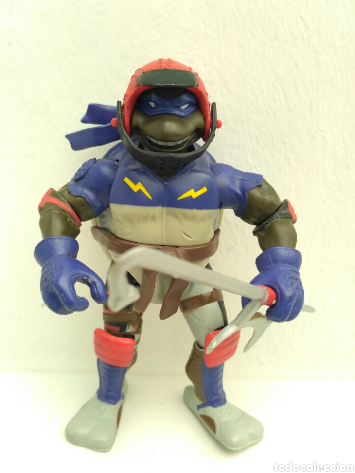 TORTUGA NINJA 2003 DONATELLO PLAYMATES TOYS TMNT TORTUGAS (Juguetes - Figuras de Acción - Tortugas Ninja)