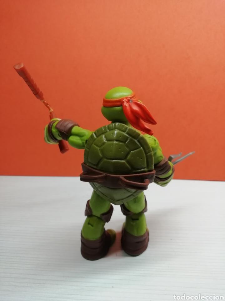 Figuras y Muñecos Tortugas Ninja: Figura Tortuga Ninja Articulada 12 cm Viacom 2012( Michelangelo) - Foto 2 - 162752092