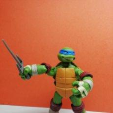 Figuras y Muñecos Tortugas Ninja: FIGURA TORTUGA NINJA ARTICULADA 12 CM VIACOM 2012 (LEONARDO).... Lote 162753785