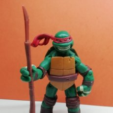 Figuras y Muñecos Tortugas Ninja: FIGURA TORTUGA NINJA ARTICULADA 12 CM VIACOM 2012 (RAFAEL) RAPHAEL.... Lote 162755502