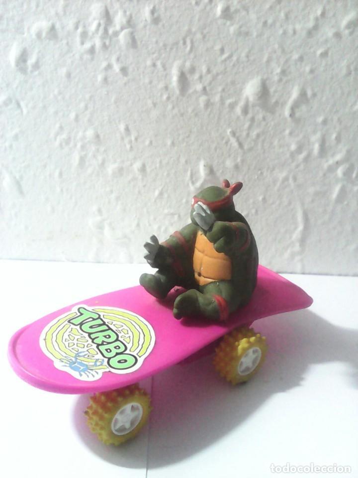 TORTUGAS NINJA ANTIGUA FIGURA AÑOS 80 (Juguetes - Figuras de Acción - Tortugas Ninja)