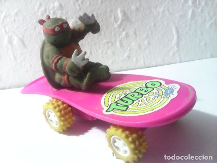 Figuras y Muñecos Tortugas Ninja: tortugas ninja antigua figura años 80 - Foto 2 - 163050610