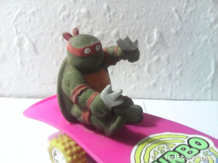 Figuras y Muñecos Tortugas Ninja: tortugas ninja antigua figura años 80 - Foto 3 - 163050610