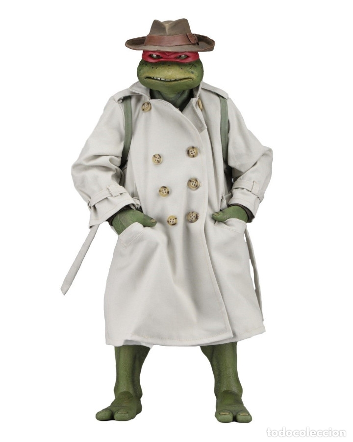 Figuras y Muñecos Tortugas Ninja: Raphael Disfraz Teenage Mutant Ninja Turtles 1/4 escala 18 Figura Neca 2018 ORIGINAL - Foto 13 - 166866213