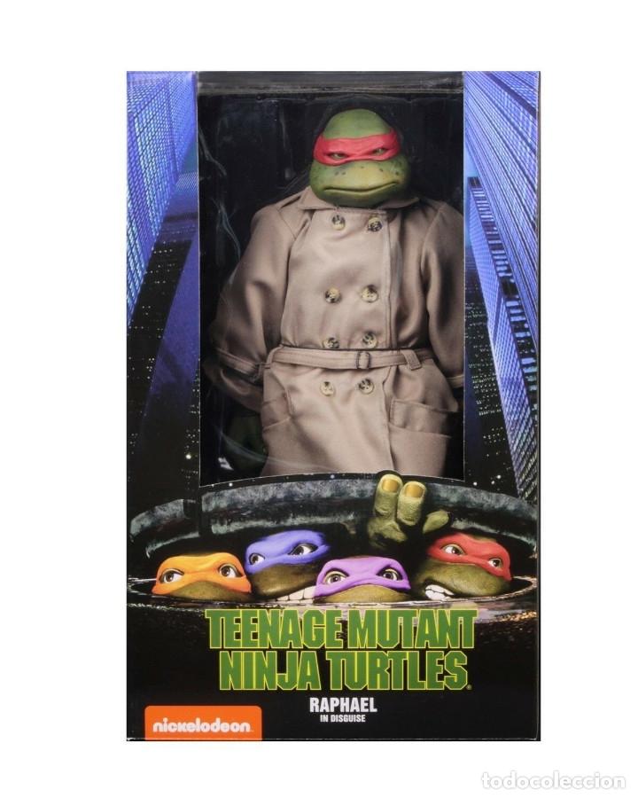 Figuras y Muñecos Tortugas Ninja: Raphael Disfraz Teenage Mutant Ninja Turtles 1/4 escala 18 Figura Neca 2018 ORIGINAL - Foto 16 - 166866213