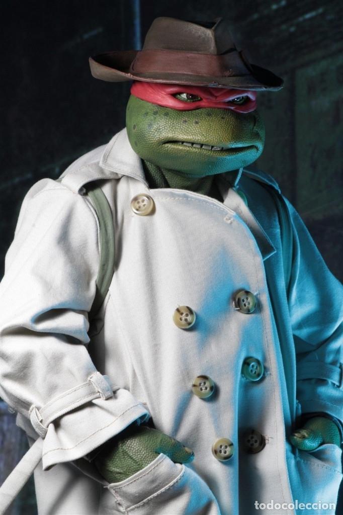 Figuras y Muñecos Tortugas Ninja: Raphael Disfraz Teenage Mutant Ninja Turtles 1/4 escala 18 Figura Neca 2018 ORIGINAL - Foto 21 - 166866213