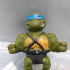 Figuras y Muñecos Tortugas Ninja: ANTIGUO DISPENSADOR DE CARAMELOS TORTUGAS NINJA LEONARDO MIRAGE STUDIOS 1990. Lote 168202756