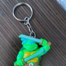 Figuras y Muñecos Tortugas Ninja: ANTIGUO LLAVERO TORTUGAS NINJA LEONARDO STAR TOYS 1988. Lote 168204808