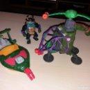 Figuras y Muñecos Tortugas Ninja: LOTE TORTUGAS NINJA - 1990 MIRAGE STUDIOS - PLAYMATES TOYS. Lote 169025042