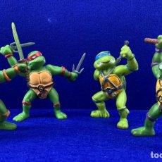 Figuras y Muñecos Tortugas Ninja: LOTE DE 4 TORTUGAS NINJAS VINTAGE - MIRAGE STUDISO 1998 - 8 CM. Lote 170485952