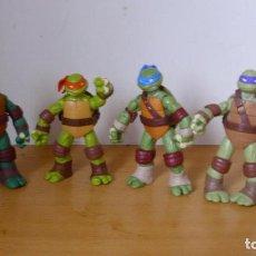 Figuras y Muñecos Tortugas Ninja: LOTE FIGURAS 4 MUÑECOS TORTUGAS NINJA 2012 VIACOM. Lote 171357049
