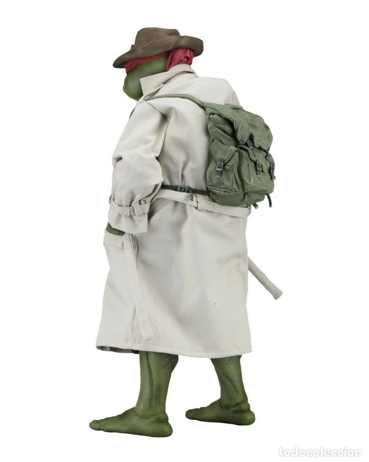 Figuras y Muñecos Tortugas Ninja: NECA FIGURA Raphael CON Disfraz Teenage Mutant Ninja Turtles escala 18 - 2018 ORIGINAL NUEVA 40.CM - Foto 2 - 171633383