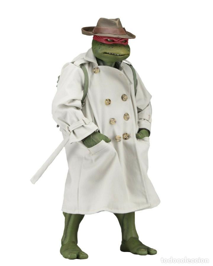 Figuras y Muñecos Tortugas Ninja: NECA FIGURA Raphael CON Disfraz Teenage Mutant Ninja Turtles escala 18 - 2018 ORIGINAL NUEVA 40.CM - Foto 3 - 171633383