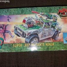 Figuras y Muñecos Tortugas Ninja: JEEP TORTUGAS NINJA PLAYMATES BANDAI. Lote 174465293