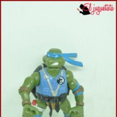 Figuras y Muñecos Tortugas Ninja: SANTJUK - TORTUGAS NINJA - MIRAGE STUDIOS 2005 MONSTER TRAPPERS - LEONARDO. Lote 174485993