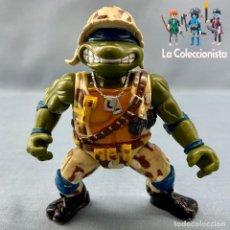 Figuras y Muñecos Tortugas Ninja: TORTUGAS NINJAS - TENIENTE LEO LEONARDO -TEENAGE MUTANT NINJA TURTLES 1991 MUTANTE MILITAR. Lote 175518245