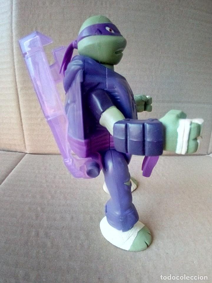 Figuras y Muñecos Tortugas Ninja: FIGURA TORTUGAS NINJA PLAYMATES VIACOM - Foto 3 - 175795758