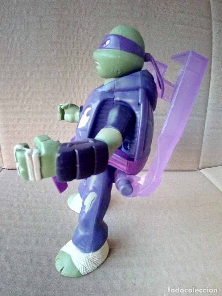Figuras y Muñecos Tortugas Ninja: FIGURA TORTUGAS NINJA PLAYMATES VIACOM - Foto 4 - 175795758