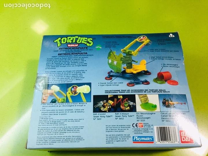 Figuras y Muñecos Tortugas Ninja: Cañón doble de desatascadores Tortugas Ninja, Bandai 1988, Tortues, turtles, - Foto 3 - 176148038